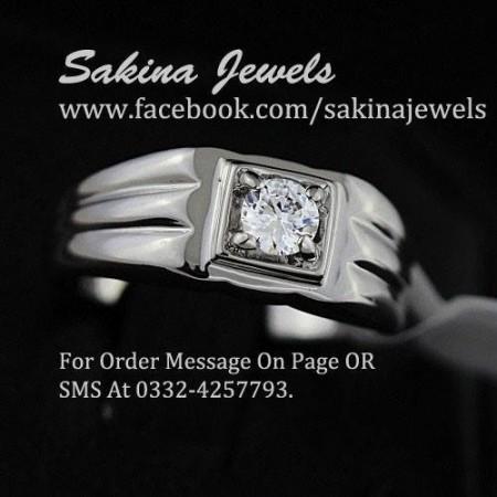 Sakina Jewelery Rings Designs 2014 For Women