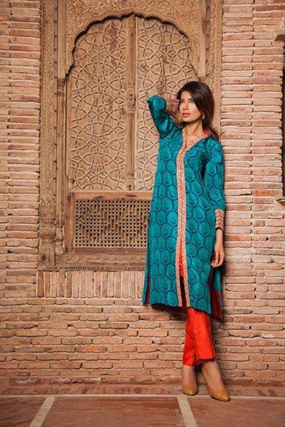 Silk by Fawad Khan Girls Summer Collection 2014