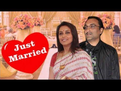Rani Mukherjee And Aditya Chopra Wedding Pictures