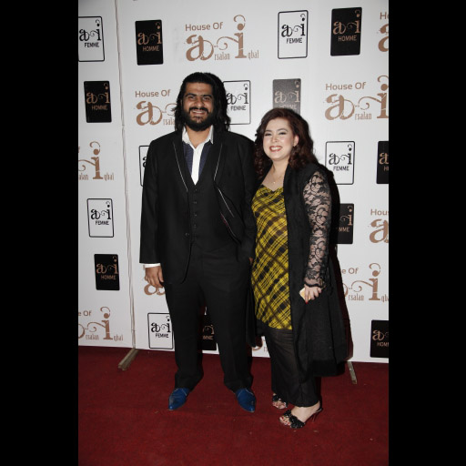 Arsalan Iqbal Pictures with Fashion Designer