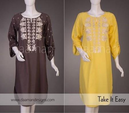 Daaman Women Casual Dresses 2014