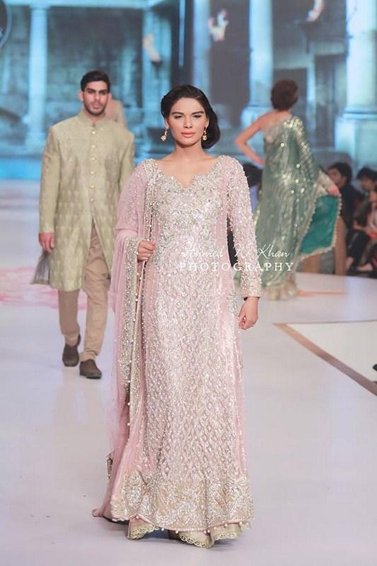 Faraz Manan Collection Exhibited At Pantene Bridal Couture Week 2014
