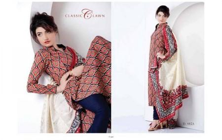 Five Star Textiles Women Classic Lawn Dresses 2014 Volume 2