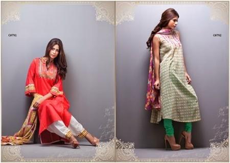 Kayseria Women Pret Wear Dresses 2014 Volume 2