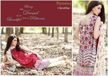 Pareesa Women Lawn 2014 Volume 2