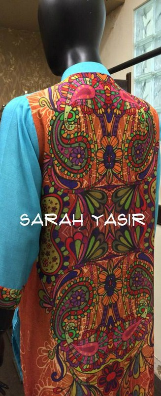 Sarah Yasir Women Summer Dresses 2014
