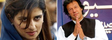 Imran Khan & Hina Rabbani Khar Pictures