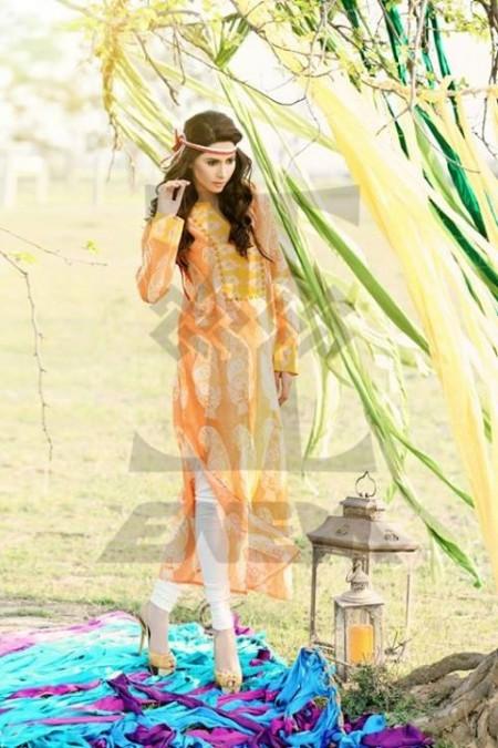 Zahra Saeed Women Summer Dresses 2014