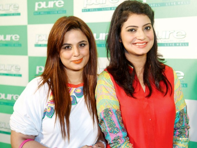 alizay and sania hassan photos