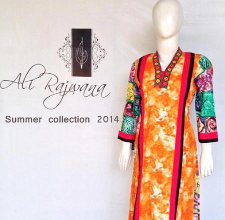Ali Rajwana Girls Summer Dresses 2014
