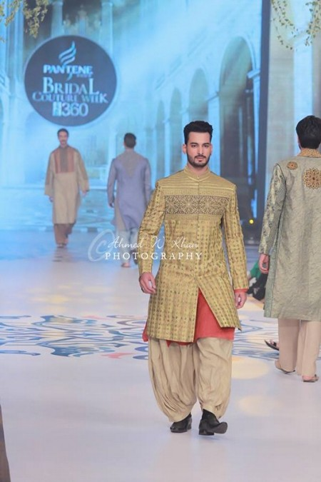 Amir Adnan Collection Exhibited At Pantene Bridal Couture Week 2014