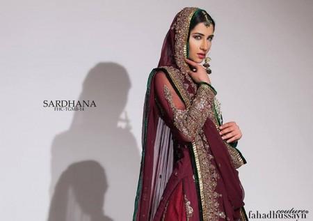 Fahad Hussayn Girls New Dresses 2014