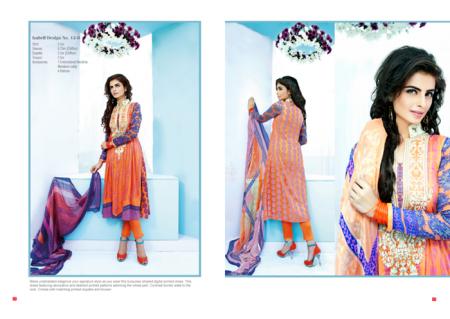 Ittehad Textiles Eid-Ul-Fitr Dresses 2014 For Women