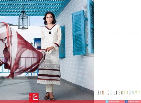 Al-Zohaib Textiles Monsoon Festivana Eid Dresses 2014