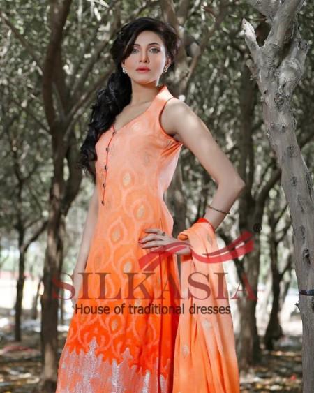 Silkasia Eid-Ul-Fitr Girls Dresses 2014