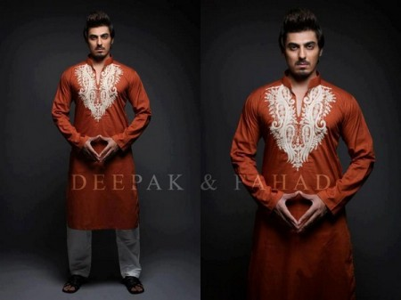 Trend of Men Mehndi Kurtas 2014