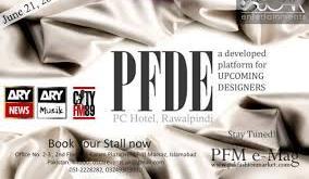 Exhibition of Pakistan Fashion Design Expo 2014 PFDE 2014