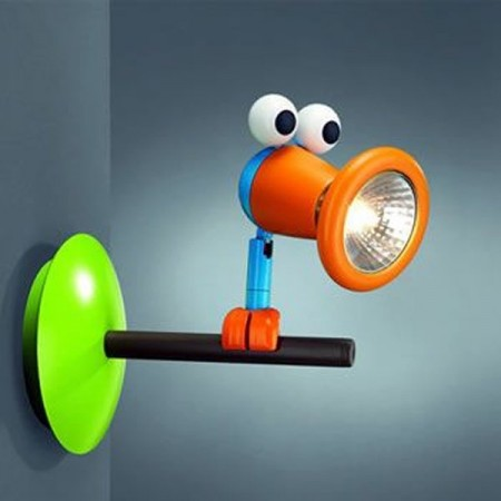 Funky kids wall lights
