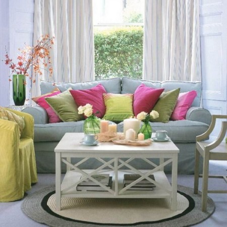 Ideas To Decorate Living Room In Summer Season