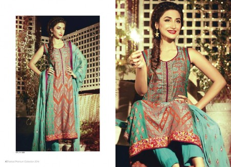 Orient Textiles Festival Eid Dresses 2014 For Girls