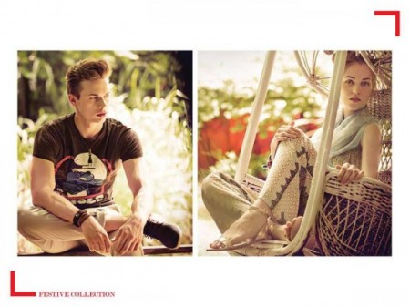 Outfitters Boys & Girls Eid Collection 2014