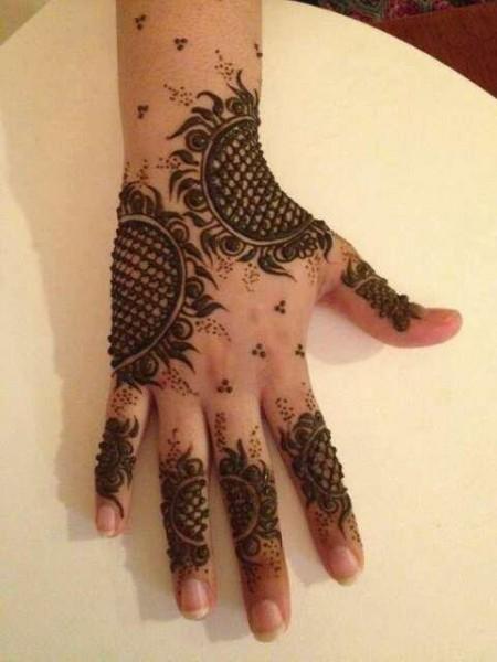 Peacock Hands Mehndi Designs
