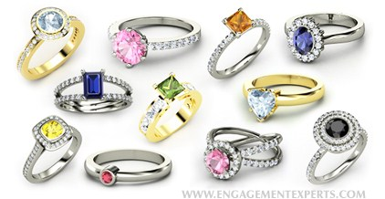 Trends of Women Gem Stones Rings