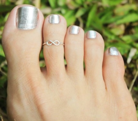 Trends Of Toe Ring Designs For Women