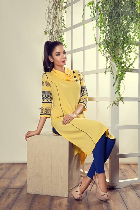 Yellow Men and Women Eid Arrivals 2014