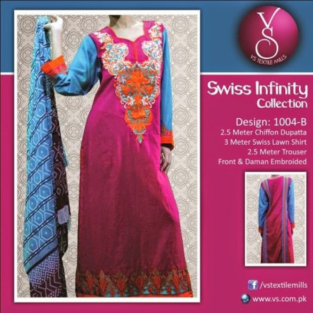 VS Textile Mills Swiss Collection 2014 For Mid Summer