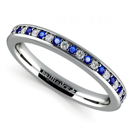 Designs of Wedding Women Sapphire Rings