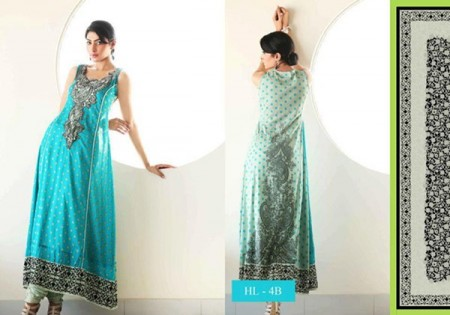 Embroidered Women Lawn Dresses Trend 2014