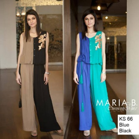 Maria B Evening Wear Girls Dresses 2014
