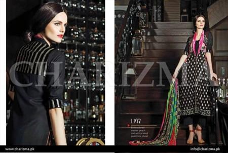 Charizma Winter Women Dresses 2014 Volume 1
