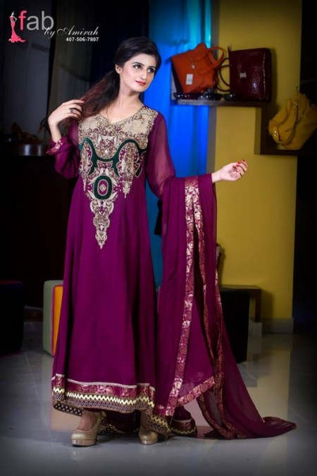Fab by Amirah Formal Wear Dresses 2014 For Women