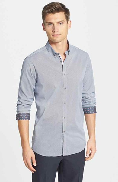 Fashion of Men Summer Casual Shirts 2014