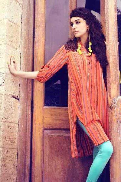Fashion of Pret Wear Women Dresses 2014