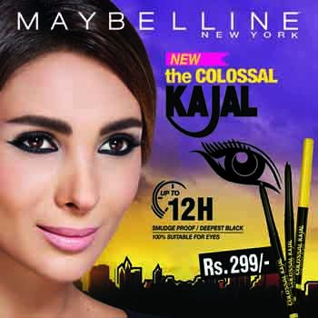 Maybelline Launches Kajal in Pakistan at Affordable Price