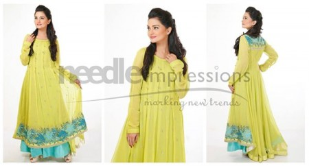 Needle Impressions Eid Ul Azha Women Dresses 2014