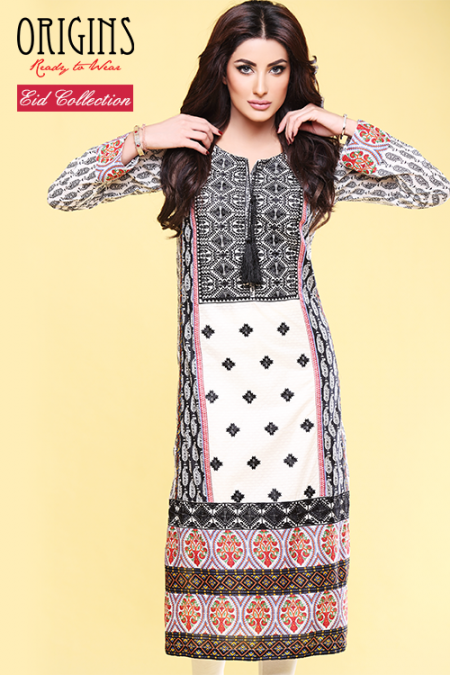 Origins Eid-Ul-Azha Women Dresses 2014