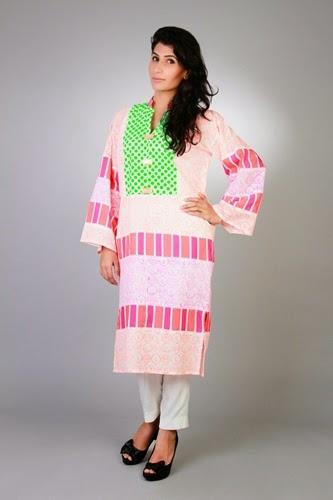Sanam Chudhary Eid Ul Azha Women Collection 2014