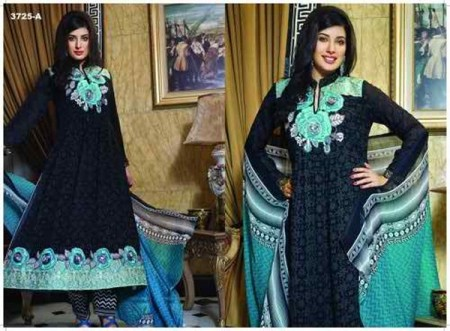 Fabrics Eid Ul Azha Women Collection 2014