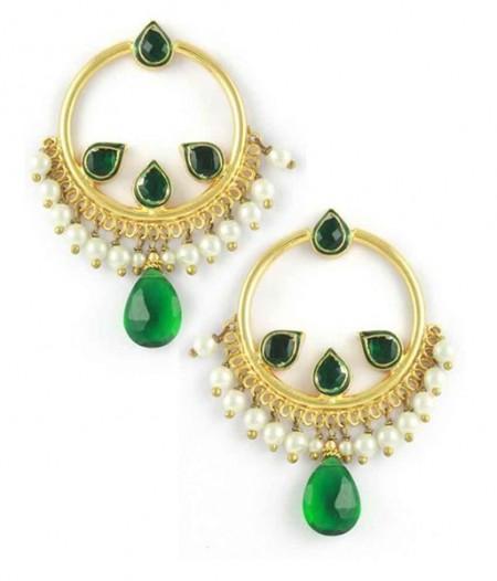 Trend of Round Shaped Women Earrings 2014
