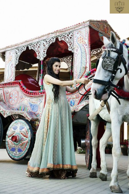 Umsha by Uzma Babar Women Bridal Dresses 2014