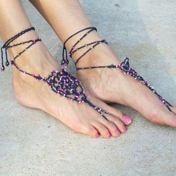 Preparation of Barefoot Sandals