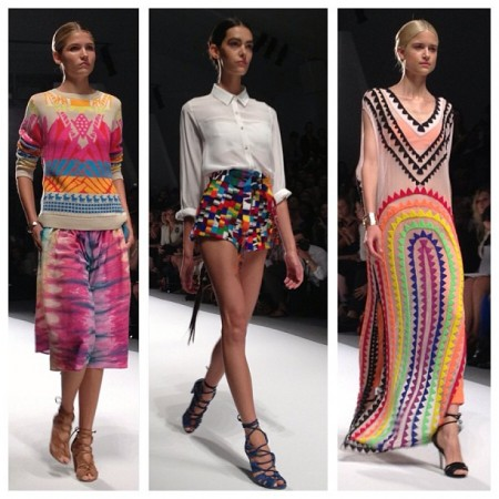 New York Fashion Week 2014 Spring Dresses Pictures