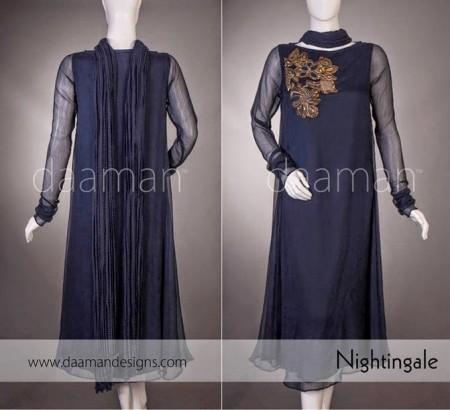 Daaman Eid Dresses 2014 For Women