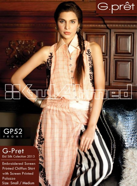Gul Ahmed G-Pret Collection 2014 For Women