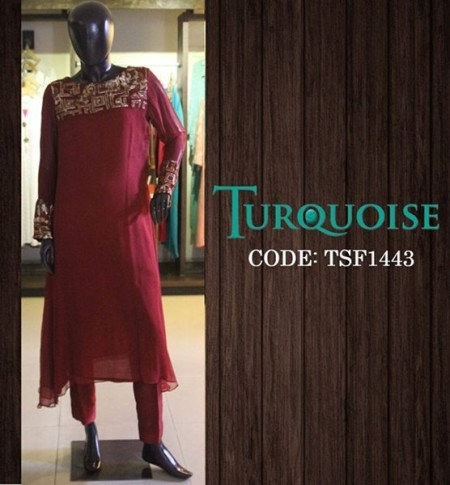 Turquoise Women Fall Collection 2014