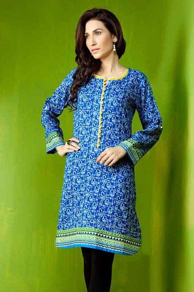 Bonanza Satrangi Ready To Wear Eid Collection 2014 For Women